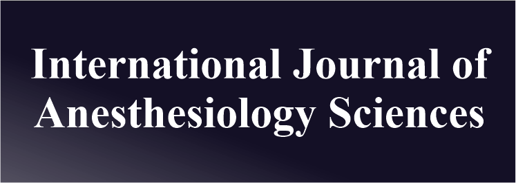 International Journal of Anesthesiology Sciences